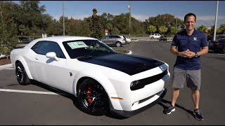 Is a 2021 Dodge Challenger Hellcat Redeye the better muscle car than a Super Stock?