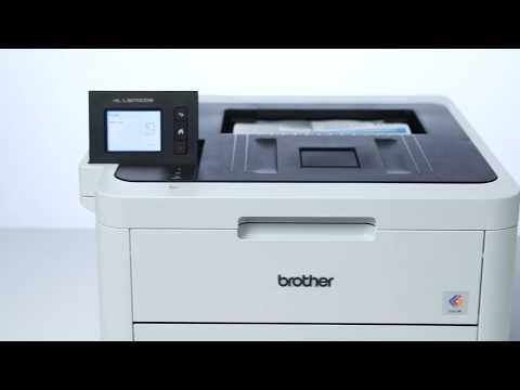 Brother Farbdrucker HL-L3270CDW mit Duplex und LAN / WLAN | Produktvideo