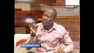Akabbinkano Frank Gashumba and Hon.Mike Mabikke on KCCA tribunal report on Lukwago