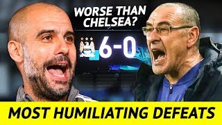 Top 10 Most Humiliating Defeats of Premier League Big Six (Embarrassing Football Losses)