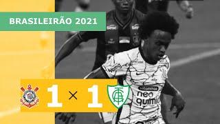 Corinthians 1 x 1 América-MG - Gols - 19/09 - Brasileirão 2021