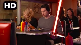 Adam Driver - Kylo Ren Brings Out His Lightsaber!