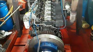 Động cơ Mitsubishi, gắn dưới tàu biển chạy quá ngon