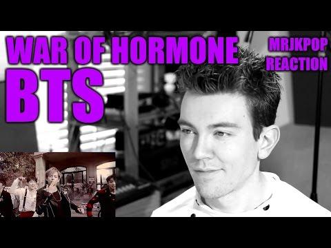 BTS War of Hormone Reaction / Review [Korean Subs] - MRJKPOP ( 방탄소년단 호르몬 전쟁 )