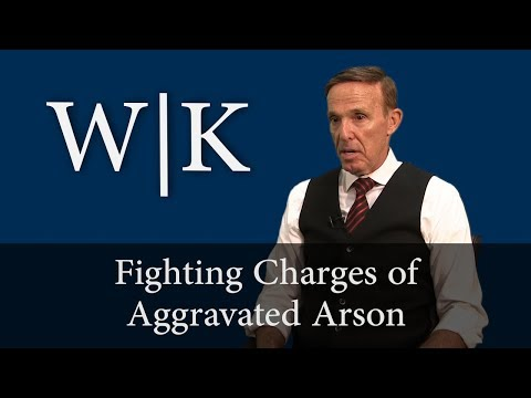 What is Aggravated Arson?