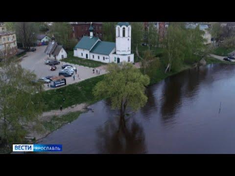 Большая вода вновь подступает к населенным пунктам Ярославской области