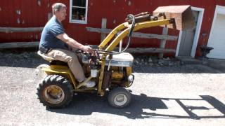 Cub Cadet Estate Tractor with Loader