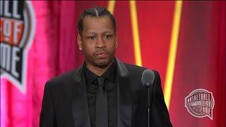 Allen Iverson's Basketball Hall of Fame Enshrinement Speech