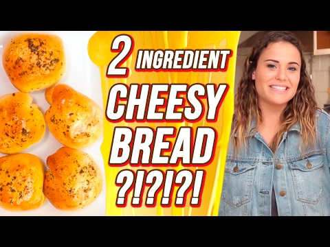 2 Ingredient Cheesy Bread?!  | 3 Items Or Less w/ Ayydubs