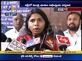 Minister Bhuma Akhila Priya meets Union Ministers in New Delhi; Speaks to media