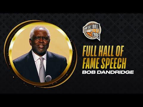 Bobby Dandridge   Hall of Fame Enshrinement Speech