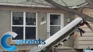 Airplane Debris Falls Over Denver Neighborhoods Following United Flight's Engine Failure