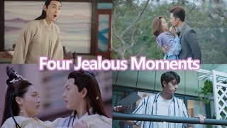 【ENG SUB 】Four Jealous moments!!So sweet!
