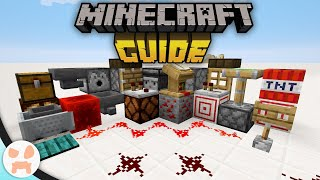 REDSTONE BASICS & COMPONENTS! | The Minecraft Guide - Tutorial Lets Play (Ep. 24)