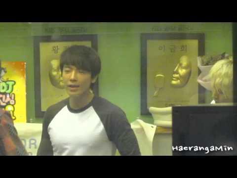 [Fancam] 120720 Sukira Sungmin & Donghae - 너로부터