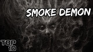 Top 10 Scary Images Seen In Smoke