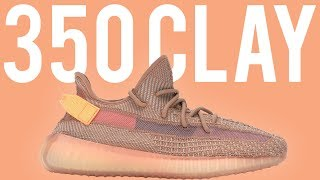 ADIDAS YEEZY 350 V2 CLAY REVIEW!  BEST COLORWAY!!!