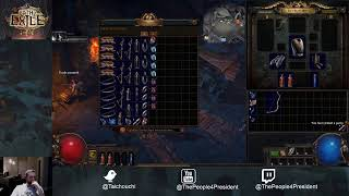 Back with a new place, Playing Path of Exile