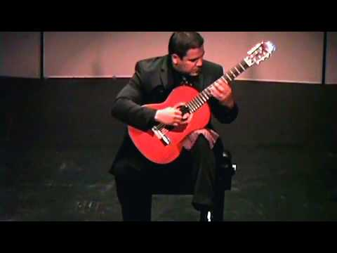 Nicolas Fuentes performs Prelude No. 1 in E minor by Heitor Villa-Lobos in recital at Cal State Fullerton.