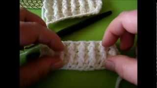 Das Häkelbündchen Chrochet Rib Rippenmuster Häkeln Youtube