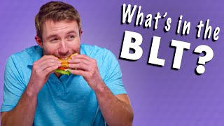 Will it BLT? // Bacon Soda, Bacon Gummy, Bacon Cotton Candy, and More!