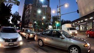 ⁴ᴷ⁶⁰ Walking Mexico City CDMX : Colonia Juárez to Chapultepec Park (Paseo de la Reforma, El Ángel)