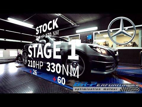 Mercedes AMG SLK 200 1.8T Stage 1 By BR-Performance
