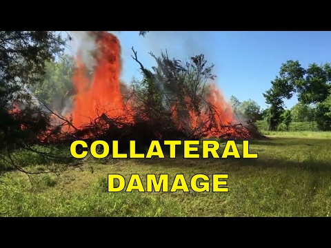 BRUSHFIRE ~ COLLATERAL DAMAGE!