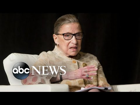 Supreme Court Justice Ruth Bader Ginsburg, a champion for women's rights, dies at 87 | Nightline
