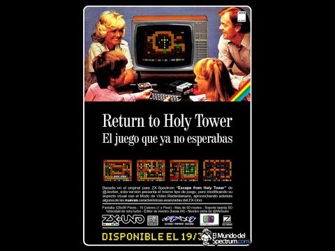 Primeros minutos a Return to Holy Tower (Harkho) ZX-Uno Modo Radastaniano