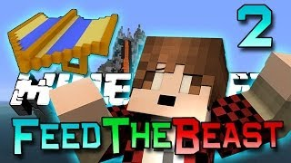 Minecraft: Feed The Beast Ep. 2 - How To Fly! (Modded