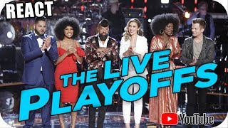 ALICIA TEAM PLAYOFFS The Voice 2018 BRITTON, CHRISTIANA, JACKIE, JOHNNY BLISS, TERRENCE, KELSEA