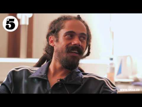 Damian Marley Interview with #5 Magazine's Dan Edwards - YouTube