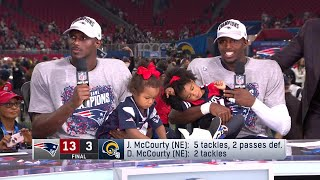 McCourty Twins Reflect on Winning Super Bowl Together | NFL Network