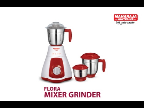 Maharaja Whiteline Flora Mixer Grinder