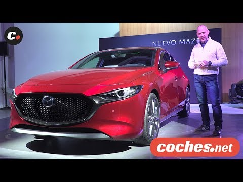 Mazda3 2019   Presentación estática / Review en español   coches.net