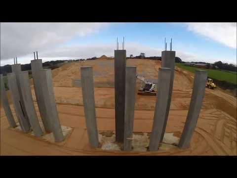 Indbygning af Leca® letklinker i bro