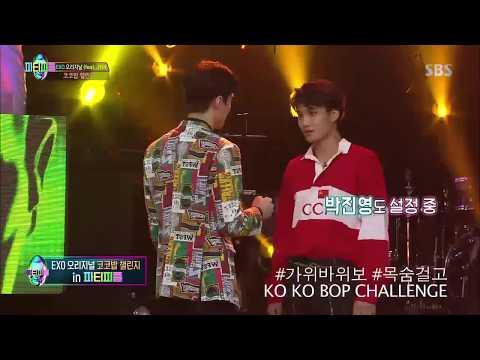EXO doing Kokobop Challenge!!!