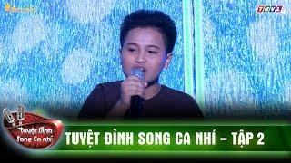 Cậu bé Nghệ An 12 tuổi gây bất ngờ với giọng ca Nam bộ ngọt ngào | Tuyệt đỉnh song ca nhí tập 2