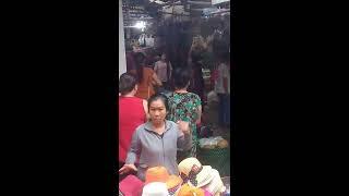 2 bà đánh nhau tại chợ trung chánh hóc môn