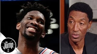 Scottie Pippen loves Joel Embiid's trash talk and never wants it to stop | The Jump