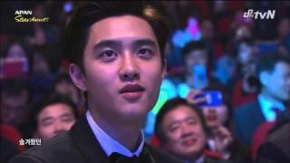141119 TVN 2014 APAN Star Awards Chen EXO