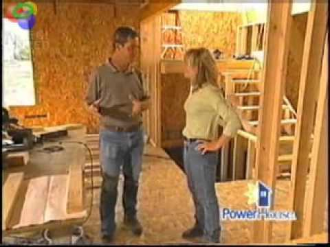 Structural Insulated Panels (SIPs) on PowerHouse TV