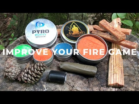 The Best Survival Fire Starters - One of Them Floats!
