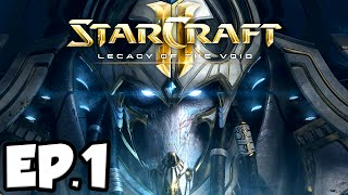 Starcraft 2: Legacy of The Void Ep.1 - DARK WHISPERS!!! (Campaign Playthrough)