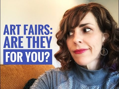 Art Business Advice: Art Fairs - are they for you?