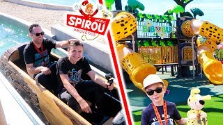 VLOG - 100% FUN AU PARC SPIROU ! - Attraction Aquatique & Manèges