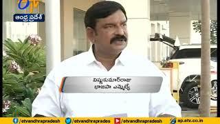 Handshake: BJP Vishnu Kumar Raju shoulders AP CM..