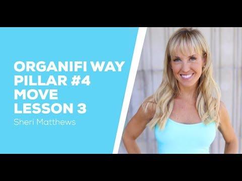 Organifi Way Pillar 4 Move - Lesson 3 - Abs - Sheri Matthews
