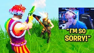 SADDEST MOMENTS In Fortnite! (Ninja, Sad Kid, Try Not To Cry)